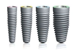dental implants are made of unalloyed titanium